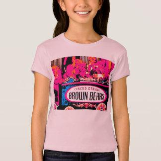 Rosa Teddybärn-Bildmädchen T - Shirt-Teil 1 T-Shirt