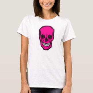 Rosa Totenkopf T-Shirt