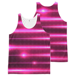 rosa Trägershirt Lasers Komplett Bedrucktes Tanktop