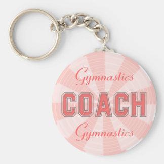 Rosa Trainer Schlüsselanhänger