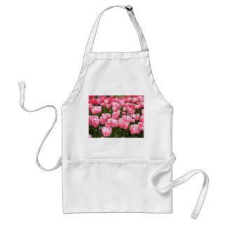 Rosa Tulpen Schürze