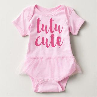 Rosa Tutu-niedlicher Baby-Mädchentutu-Spielanzug Baby Strampler