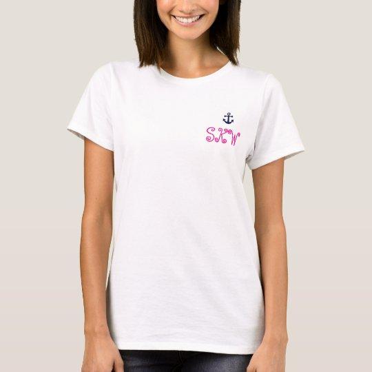 Rosa und Blau: SKW Anker-Shirt T-Shirt