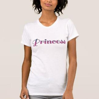 Rosa und blaue Prinzessin T-Shirt