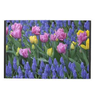 Rosa und gelbe Tulpen