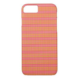 Rosa und grüne Streifen überprüften - iPhone 6 iPhone 8/7 Hülle