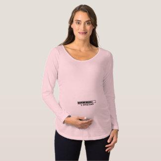 Rosa und lustiges Mutterschaftskleid Schwangerschafts T-Shirt