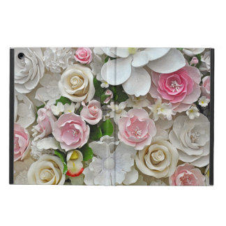 Rosa- und weißerblumendruck
