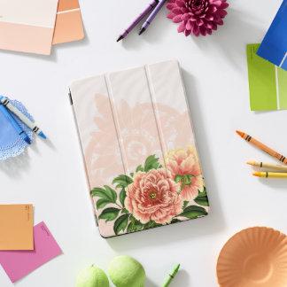 Rosa viktorianische Blumen u. antike Spitze iPad Pro Cover