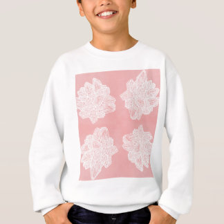 Rosa Vintages Geode Muster Sweatshirt