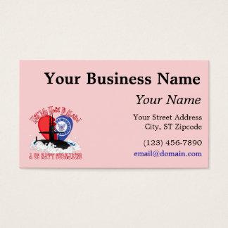 Rosa Visitenkarte