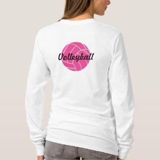 Rosa Volleyball-Shirt T-Shirt
