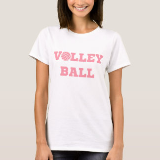 Rosa Volleyball-T - Shirt