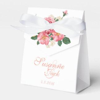 Rosa Wedding Watercolor-Rosen Geschenkschachtel