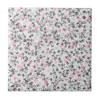 rosa Wildblumen Kachel