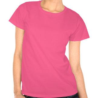 Rosaroter Damen-T - Shirt des bezaubernden Lächeln