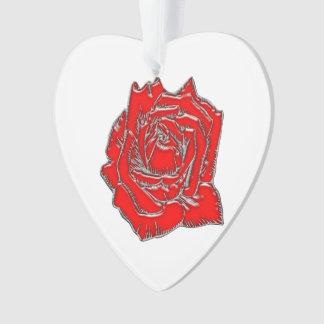 Rose #2 ornament