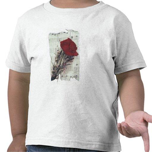 <Rose and Music> durch Kim Koza 2 Tshirts