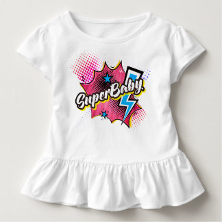 ROSE comique de cadeau de chemise d'enfant en bas T-shirt Pour Les Tous Petits