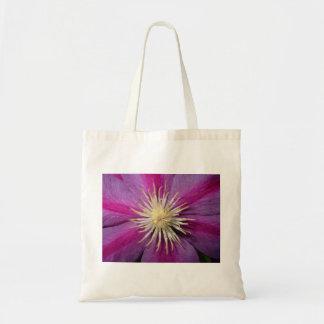 Rose de fleur de passion sac en toile budget