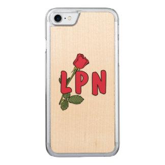 Rose der Krankenpflege-LPN Carved iPhone 7 Hülle
