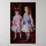 Rose et bleu ou, les filles de d'Anvers de Cahen,  Poster
