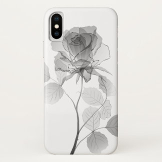 Rose iPhone X Hülle