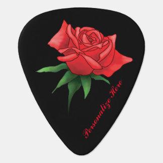 Rose ist eine personalisierte Rose Plektrum