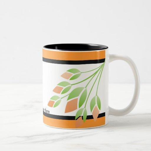Rose knospt Hochzeits-Becher Kaffeetasse