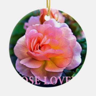 ROSE LOVERS KERAMIK ORNAMENT
