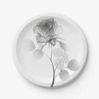 Rose Pappteller