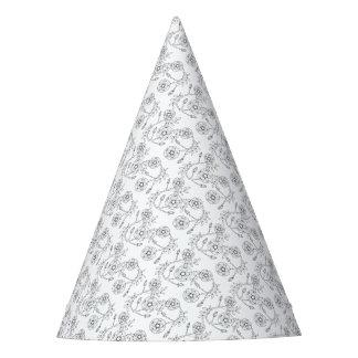 Rose sauvage conception de schéma chapeaux de fêtes