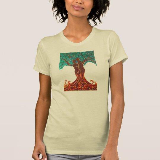 Rosemaries Wohlfühl Oase T - Shirt - Gemälde