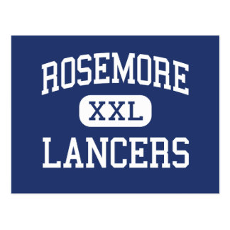 Rosemore Lancers mittleres Whitehall Ohio Postkarte