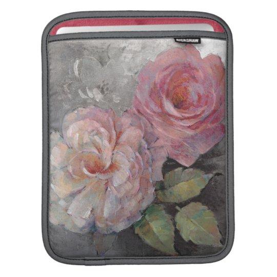 Rosen auf Grau iPad Sleeve