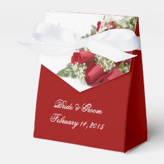 Rosen-Blumenstrauß-Gastgeschenk Hochzeits-Kasten Geschenkkarton