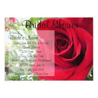Rosen-Brautparty-Einladung Karte