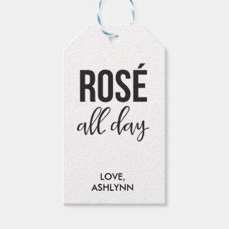 Rosen-den ganzen Tag Geschenk-Umbauten Geschenkanhänger