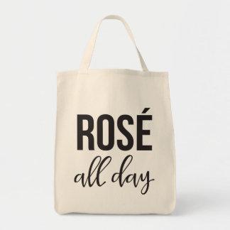 Rosen-den ganzen Tag Lebensmittelgeschäft-Tasche Einkaufstasche