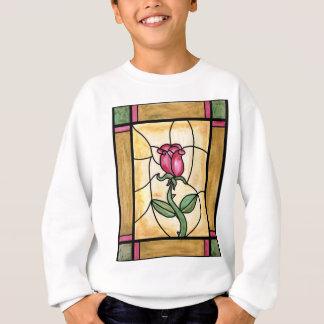 Rosen-Fenster-Sweatshirt Sweatshirt