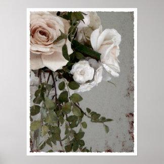 Rosen für die Braut Posterdruck