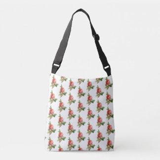 Rosen-Garten-Kreuz-Körper-Bügel-Tasche Tragetaschen Mit Langen Trägern