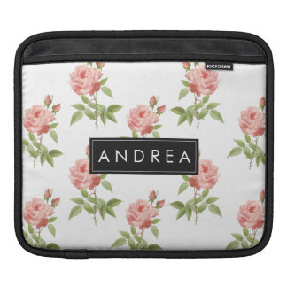 Rosen-Garten personalisierte iPad Hülse iPad Sleeve