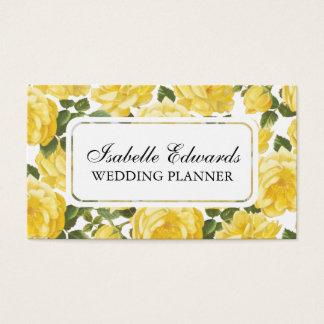 Rosen-Geschäftskarte des Blumenmusters elegante Visitenkarte
