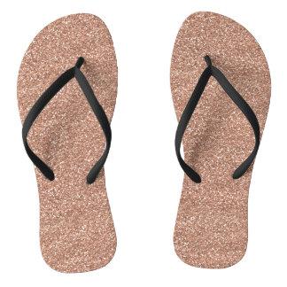 Rosen-Gold Flip Flops