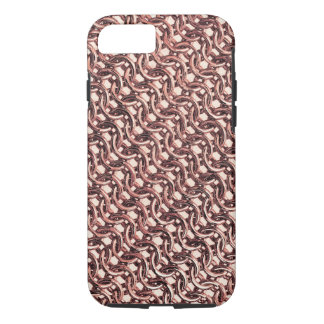 Rosen-GoldChainmail rosa iPhone 7 Hülle