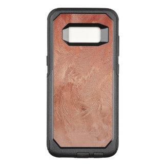 Rosen-Goldkupfer-Beschaffenheit metallisch OtterBox Commuter Samsung Galaxy S8 Hülle