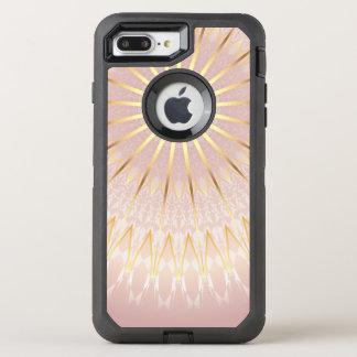 Rosen-GoldMandala OtterBox Defender iPhone 7 Plus Hülle