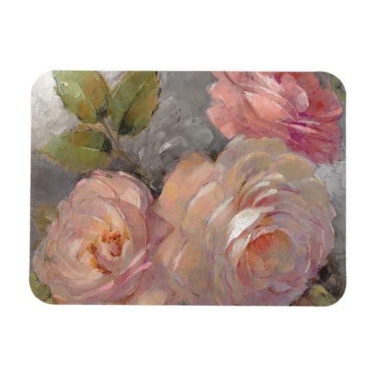 Rosen mit Grau Magnet