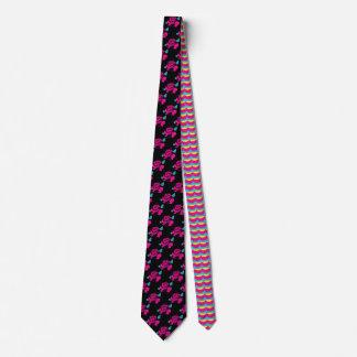 Rosen-Muster Hand-gezeichnete moderne Krawatte